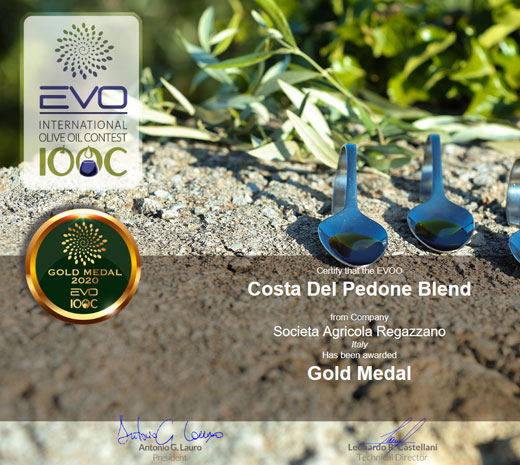 Gold Medal OOC International Olive Oil Contest 2020